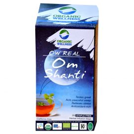 Organic Wellness Real Om Shanti Tea
