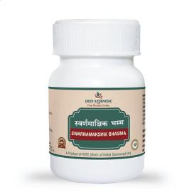 Deep Ayuveda Swarnamakshik Bhasma