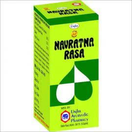 Unjha Navartna Rasa Gold Coated