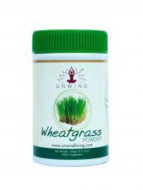 Unwind Wheatgrass Powder For Health Supplements 100 gm