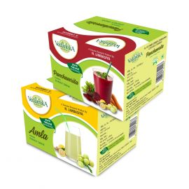 Vedantika Herbals Energy drinks (combo Pack) Amla + Panchamrita - 500g