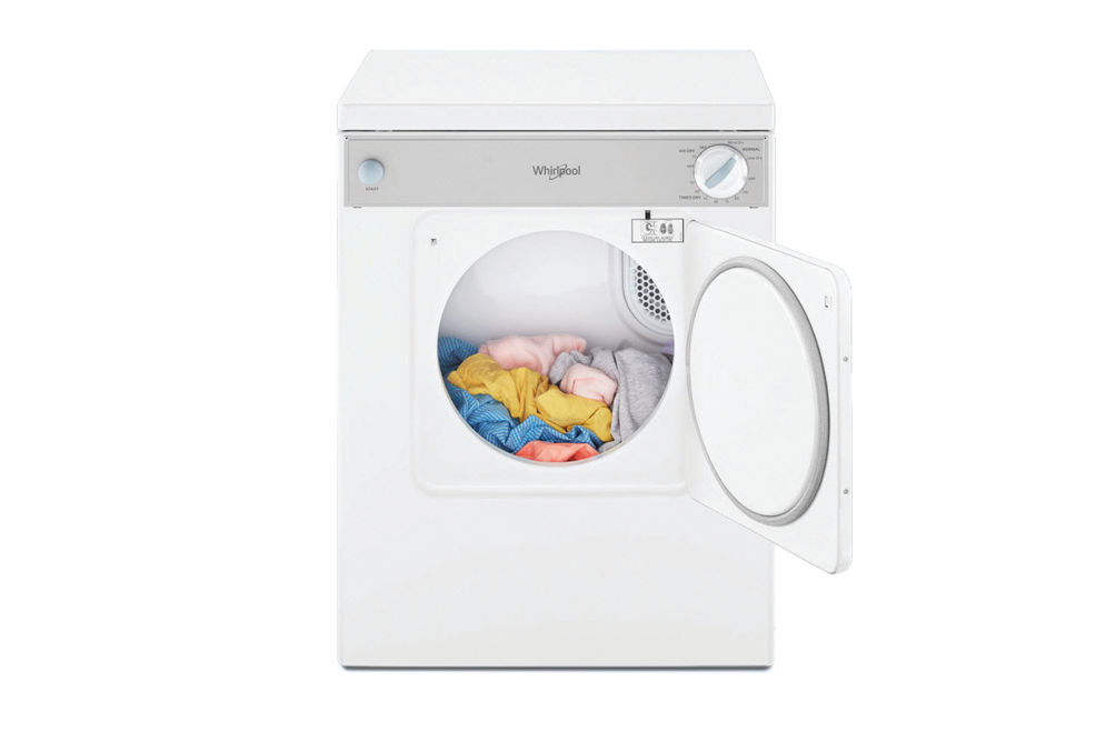 Whirlpool 3.4 Cu. Ft. Compact Dryer- Inside View