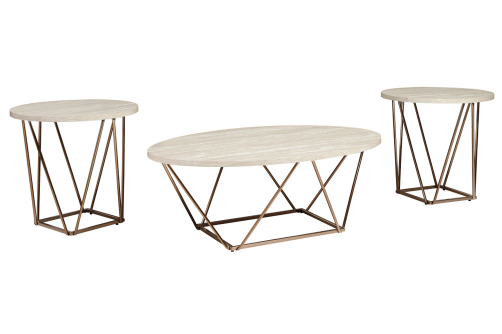 Signature Design by Ashley Tarica Coffee and End Table Set