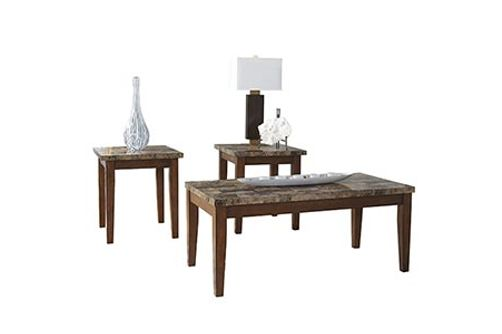 Signature Design by Ashley Theo Coffee Table and End Tables