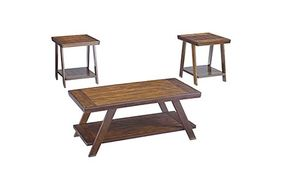 Signature Design by Ashley Bradley 3-piece Coffee Table Set