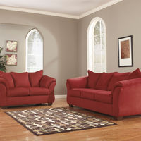 Signature Design by Ashley Darcy-Salsa Sofa and Loveseat- Room View