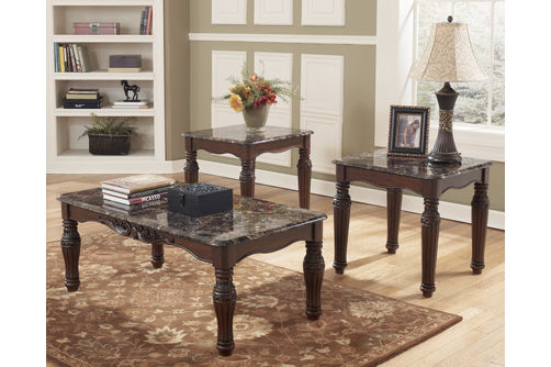 Signature Design by Ashley North Shore Coffee Table Set- Room View