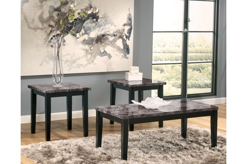 Signature Design by Ashley Maysville Coffee Table Set- Room View