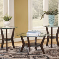 Signature Design by Ashley Fantell Coffee Table Set- Room View