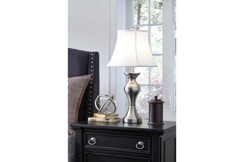 Signature Design by Ashley Rishona Lamp Set