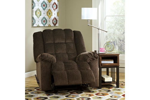 Signature Design by Ashley Ludden-Cocoa Rocker Recliner- Alternate View