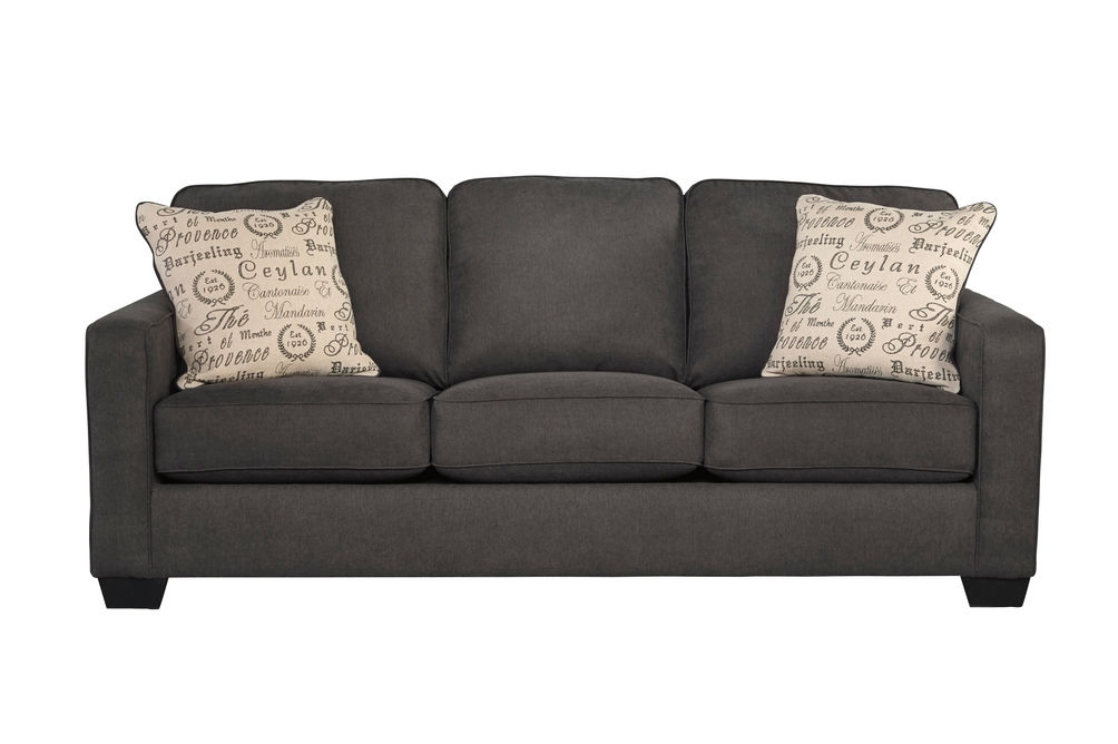 Signature Design by Ashley Alenya-Charcoal Sofa and Loveseat