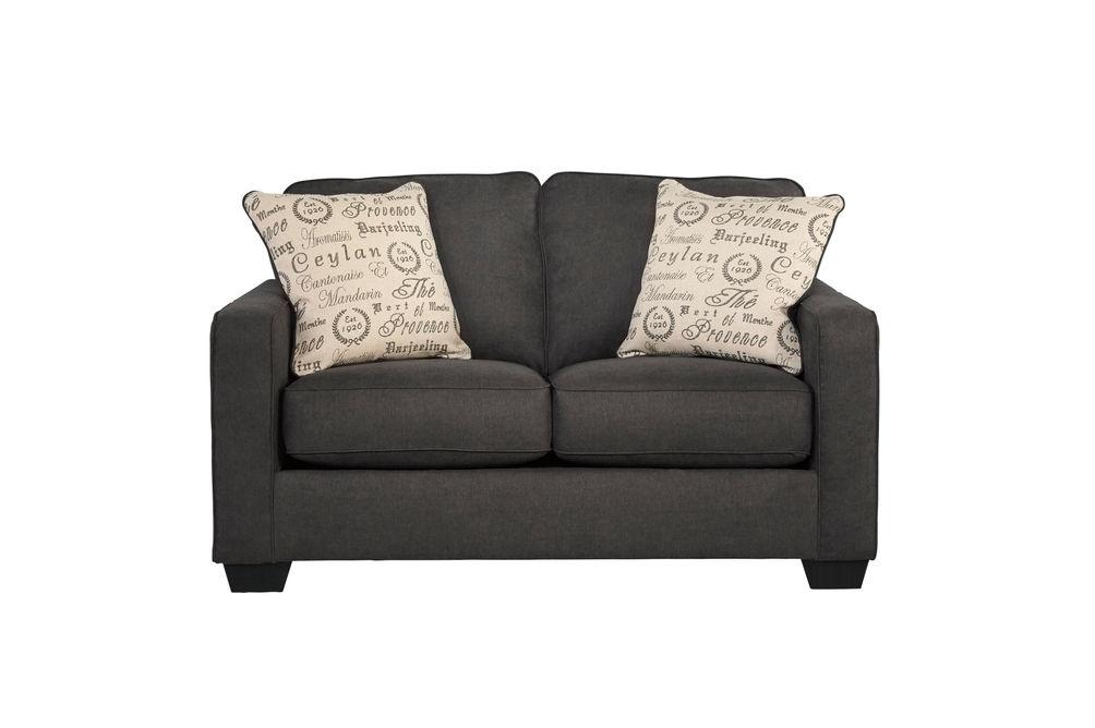 Signature Design by Ashley Alenya-Charcoal Sofa and Loveseat