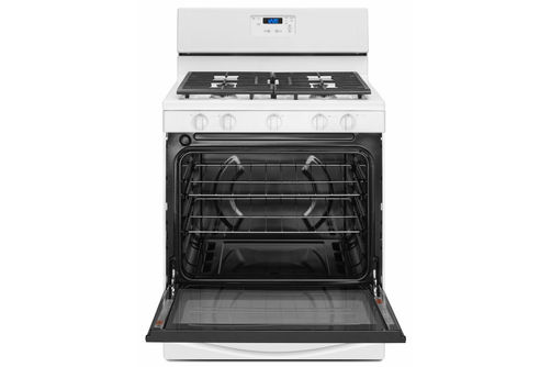 Whirlpool White 5.1 Cu. Ft. Gas Range- Open View