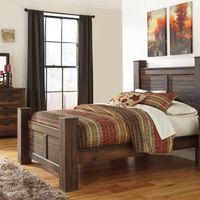 Signature Design by Ashley Quinden 6-Piece Queen Bedroom Set- Room View