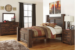 Signature Design by Ashley Quinden 6-Piece Queen Bedroom Set- Room View