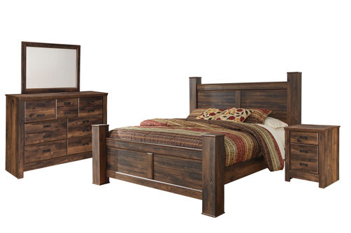 Signature Design by Ashley Quinden 6-Piece Queen Bedroom Set
