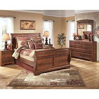 "Signature Design by Ashley ""Timberline"" 7-Piece Queen Bedroom Set"