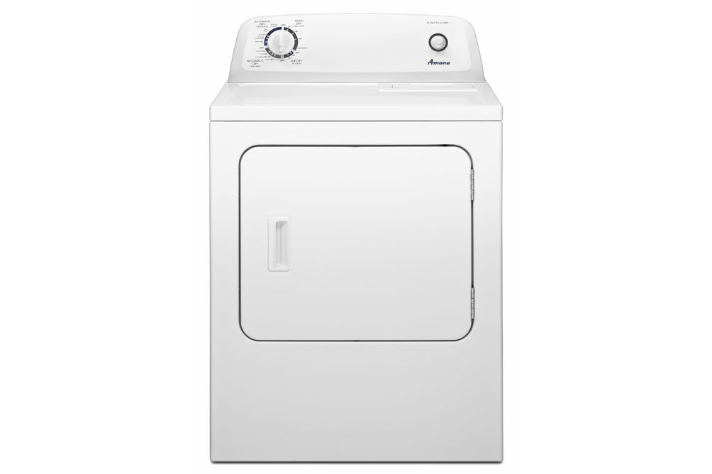 Amana 6.5 Cu. Ft. Top Load Electric Dryer with Automatic Dryness Control