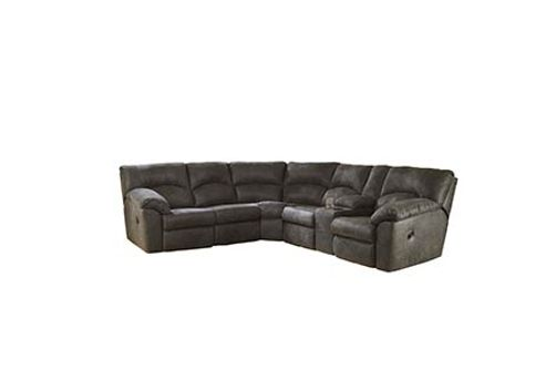 Signature Design by Ashley Tambo-Pewter 2-Piece Sectional