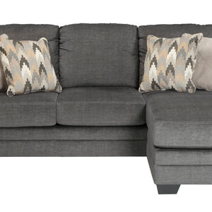 Benchcraft Braxlin-Charcoal Chaise Sofa