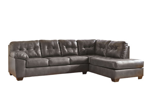 Signature Design by Ashley Alliston DuraBlend-Gray 2-Piece Sectional