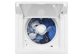 Amana® White 3.5 Cu. Ft. High Efficiency Top Load Washer- Alternate View
