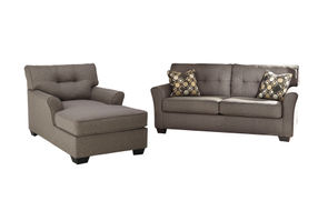 Signature Design by Ashley Tibbee-Slate Sofa and Chaise
