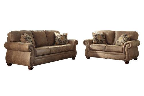 Signature Design by Ashley Larkinhurst-Earth 2-piece Sofa and Loveseat