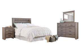 Signature Design by Ashley Zelen 4-Piece Queen Bedroom Set 2