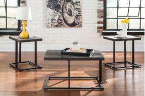 Ashley Airdon Coffee Table Set- Room View