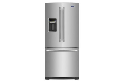 Maytag Stainless 20 Cu. Ft. French Door Bottom Mount Refrigerator