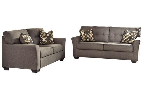 Signature Design by Ashley Tibbee-Slate Sofa and Loveseat