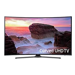Samsung 65 inch 4K UHD Curved Smart LED TV UN65MU6500