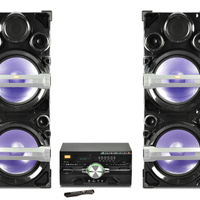 Edison Professional 4000 Party System Entertainment System