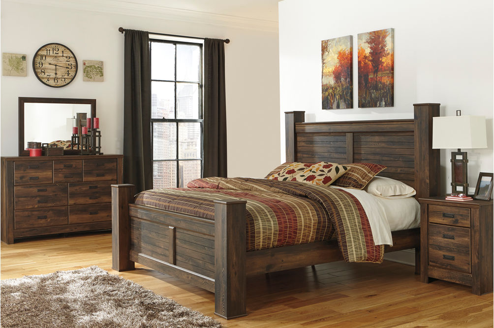 Rent To Own Quinden 6 Piece King Bedroom Set