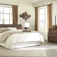 "Signature Design by Ashley ""Windlore"" 5-piece King Bedroom Set- Room View"