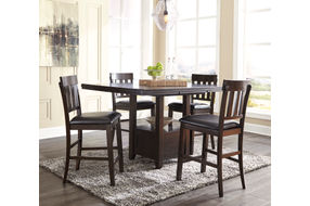 Signature Design by Ashley Haddigan 5-piece Dining Set- Room View