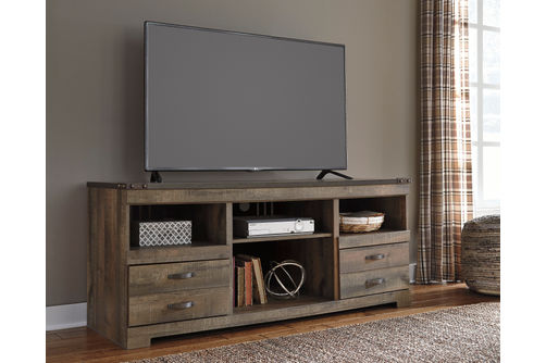Signature Design by Ashley Trinell 63 Inch TV Stand- Room View