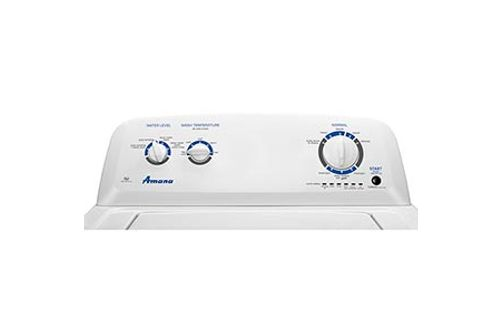 Amana 3.5 Cu. Ft. Top-Load Washer Controls