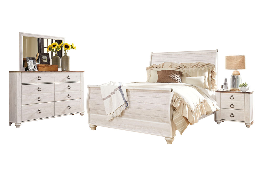 Signature Design Willowton 6-piece Queen Bedroom Set
