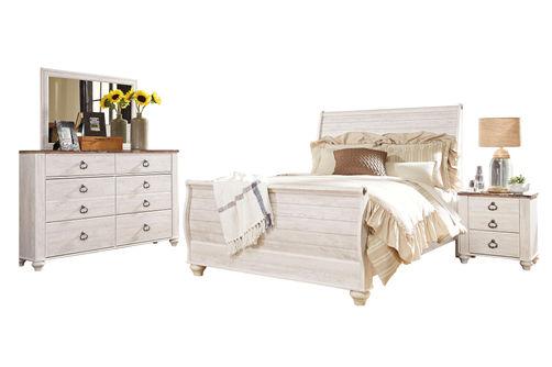 Signature Design Willowton 6-piece Queen Bedroom Set