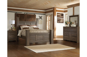 Signature Design by Ashley Juararo 6 piece Queen Bedroom Set Room View
