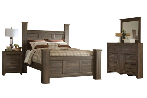 Signature Design by Ashley Juararo 6 piece Queen Bedroom Set