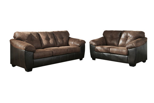 Signature Design by Ashley Gregale-Coffee Sofa and Loveseat
