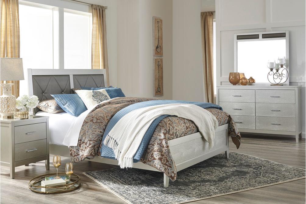 Signature Design by Ashley Olivet 6-Piece Queen Bedroom Set- Room View