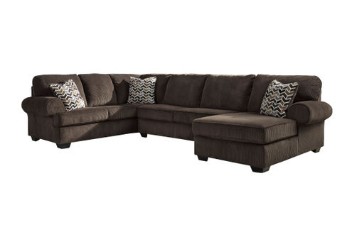 Signature Design by Ashley Bedford-Chocolate 3-Piece Sectional