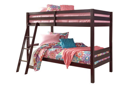 Signature Design by Ashley Halanton Twin Over Twin Bunk Bed Set