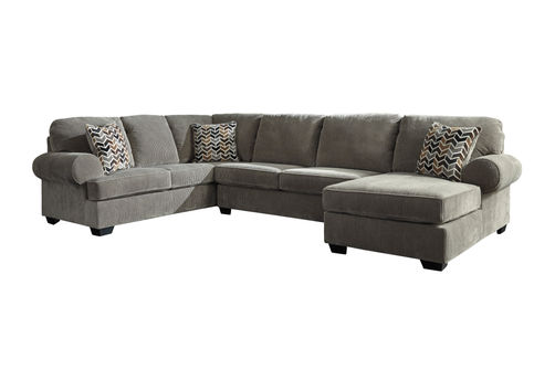Signature Design by Ashley Bedford-Gray 3-Piece Sectional