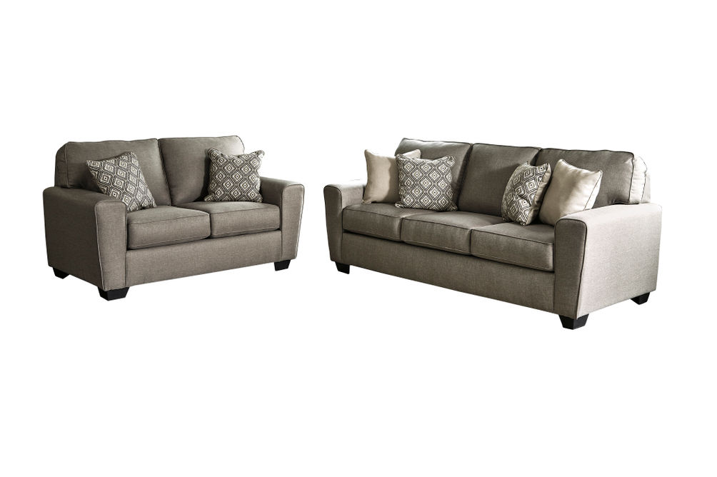 Benchcraft Calicho-Cashmere Sofa and Loveseat